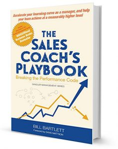 The Sales Coach's Playbook: Breaking the Performance Code by Bill Bartlett